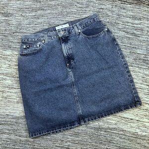 Tommy Hilfiger Vintage Denim Jean Skirt Size 12